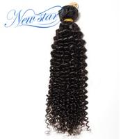 Brazilian Afro Kinky Curly Virgin Hair 1/3/4 Bundles Guangzhou New Star Hair Weaving Unprocessed Natural Color For Black Women