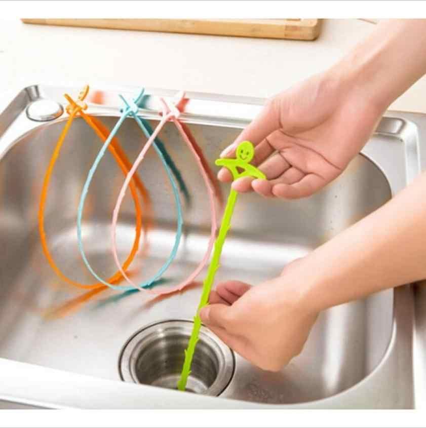 Yeni lavabo temizleme kanca banyo zemin drenaj kanalizasyon tarama cihazı küçük araçlar yeşil ev Gadget banyo aksesuarları en iyi satış