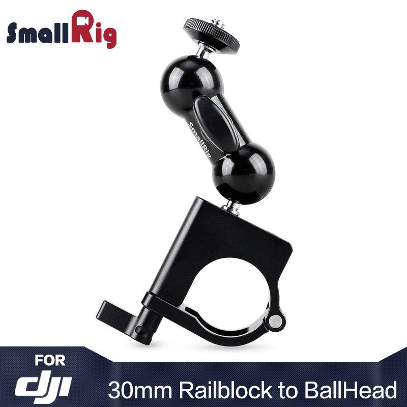 SMALLRIG DSLR Caméra 30mm Tige Pince à Rotule Bras pour DJI Ronin et FREEFLY MOVI Pro Stabilisateurs Pour viseur Moniteur 1927