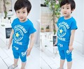 Kids boy girl summer cotton clothing set california stars number 58 pattern sports clothes Children short sleeve T-shirt pants
