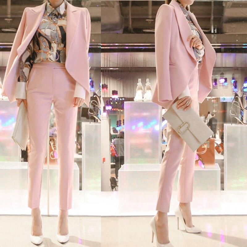 New Asimmetrico Due Set Casuale Femminile Sottile Di Piccolo 1 Coreano Vestito Modo Temperamento kXiOZPuT