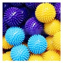 N101 ПВХ мяч Ежик для массажа акупунктурные точки фитнеса тренировочный
