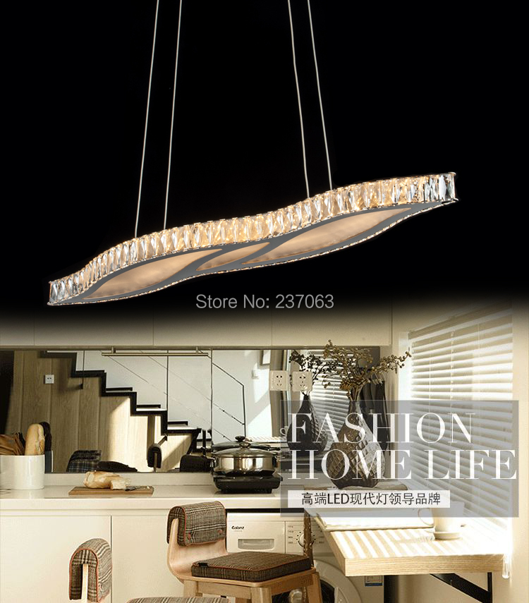 Freies verschiffen modernes design kristall kronleuchter luxus led ...