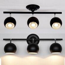 A1 магазин одежды Светодиодные прожекторы фары трек может поворачиваться купол света установки ТВ фоне Глава Лампа