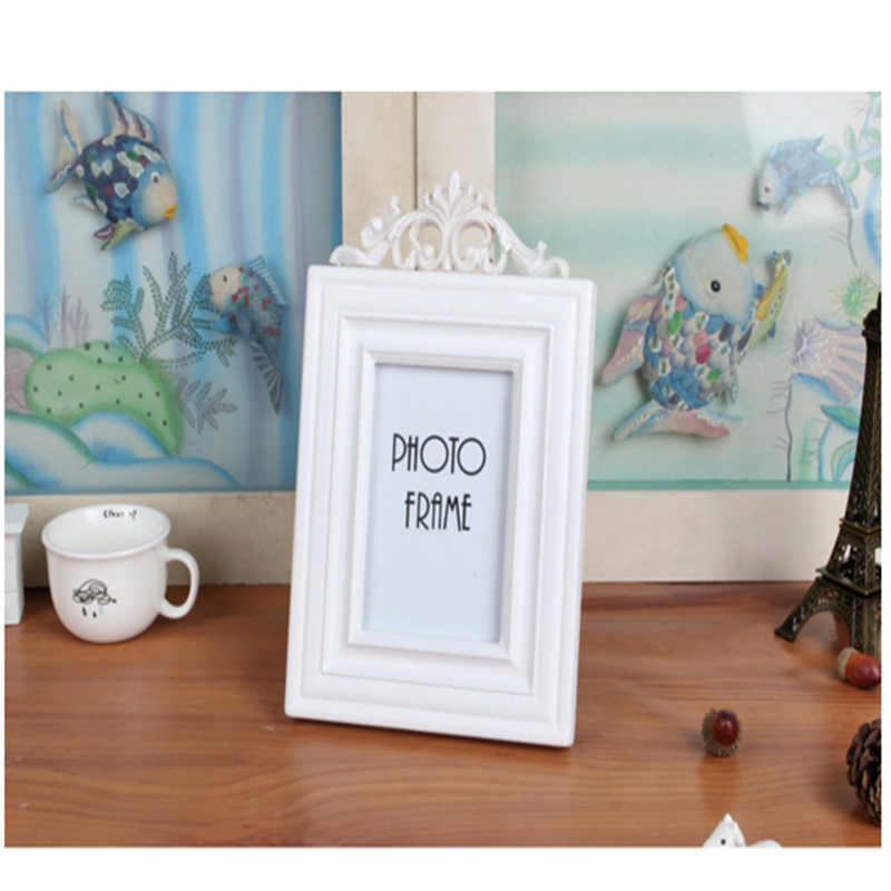 Free shipping Creative home decor European solid wood photo frame 3 5 6 7 inch Wall Picture Album Wall Frame Picture Frame in Frame from Home Garden