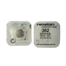 RENATA 2pcsc Silver Oxide Watch 362 SR721SW 721 1.55V 362 Renata 721 Battery стоимость