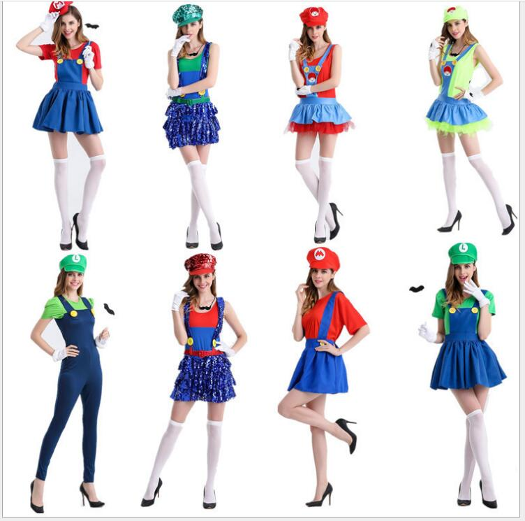 Deluxe Adult Princess Peach Costume Women Princess Plus Size 4XLPeach Super Mario Bros Party Cosplay Costumes Halloween Costumes
