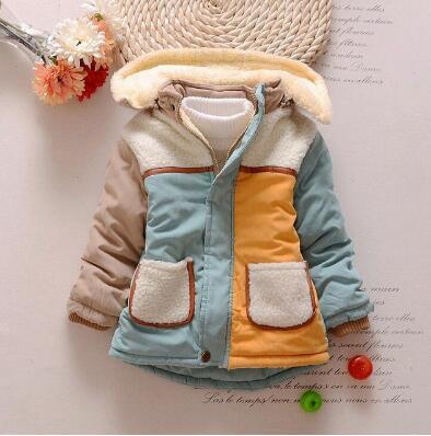 4-24 месяцев зимние Новорожденные детские зимние сапоги хлопчатобумажное пальто куртка плотные теплые вельветовые пальто для мальчиков хло...