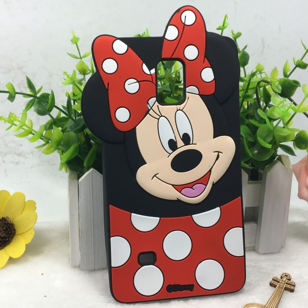 carcasa note 4 de samsung minnie