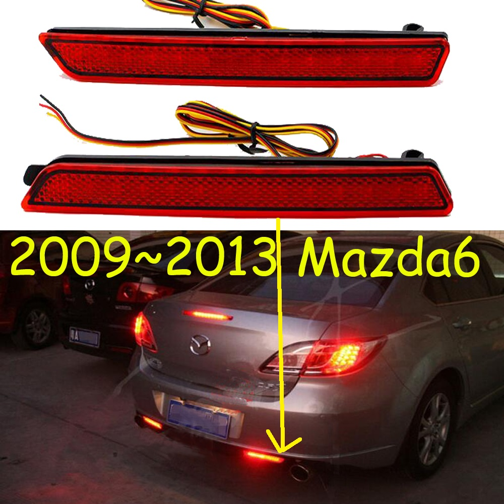car bumper taillight for <font><b>mazda</b></font> <font><b>6</b></font> Mazda6 rear <font><b>light</b></font> 2009~2013y <font><b>LED</b></font> <font><b>Tail</b></font> <font><b>light</b></font> for Mazda6 rear lamp image