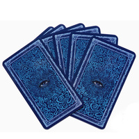 Silver Side Tarot Board Game 78 1 PCS Set Cards Game Full English Edition Tarot