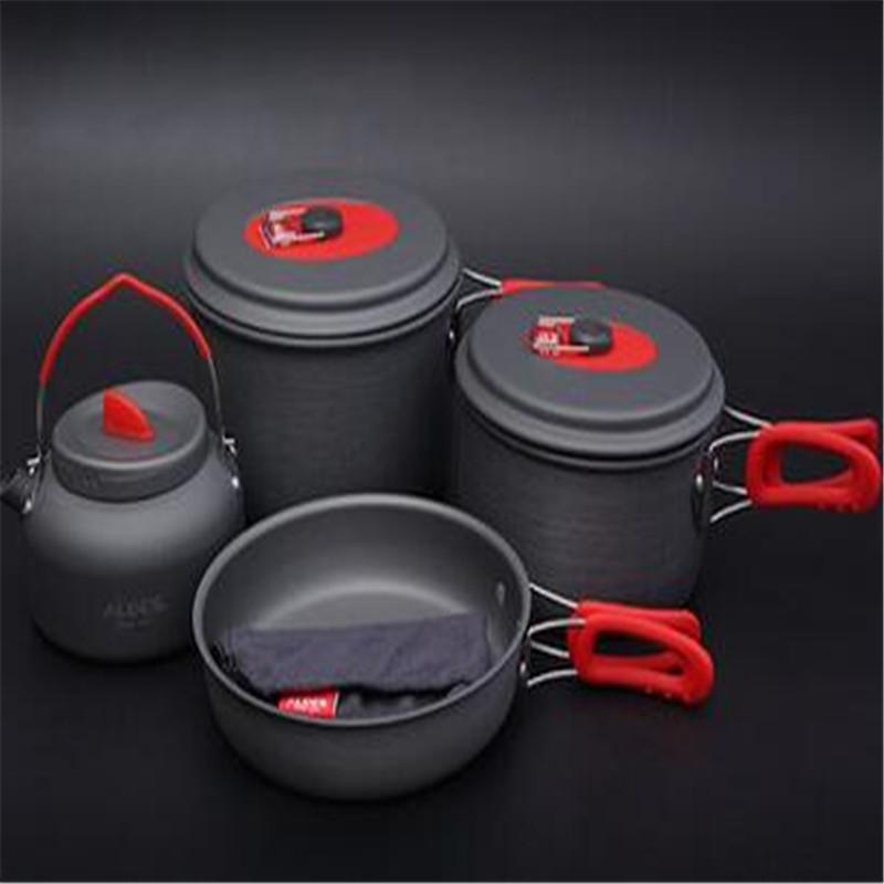 POINT BREAK 1235 people gourmet Outdoor picnic set of pan The kettle gourmet the gourmet atlas