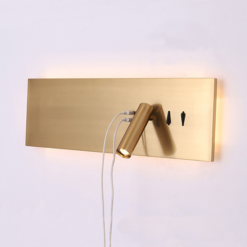 USB Port Light&Lighting Bedroom Wall Lamp Led Reading Light Indoor Wall Sconce Study Room Light Industrial Decor Konb SwitchUSB Port Light&Lighting Bedroom Wall Lamp Led Reading Light Indoor Wall Sconce Study Room Light Industrial Decor Konb Switch