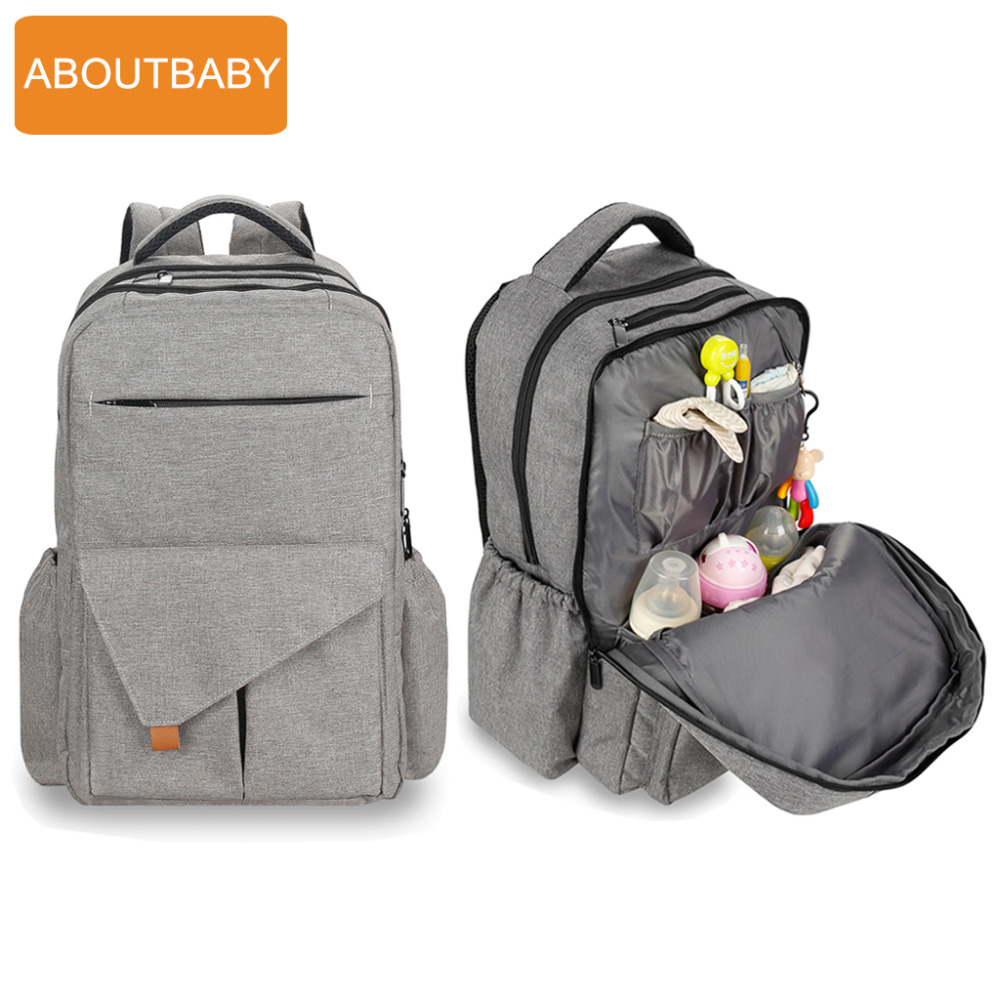 New Mummy Maternity Nappy Bag Changing Nurse Travel Baby Diaper Bags Backpack For Mother Mom Moms Pregnant Stroller Waterproof