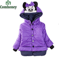 Jacket For Girls Overcoat Minnie Mouse Princess Children Winter Down Jacket Bebes Parka Snowsuit Coat Baby Outwear