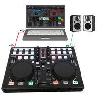 Smart Mobile phone DJ Dish Adjuster MIDI Controller Computer Multifunction Built in Sound Card Playing Audio Adjustment Players