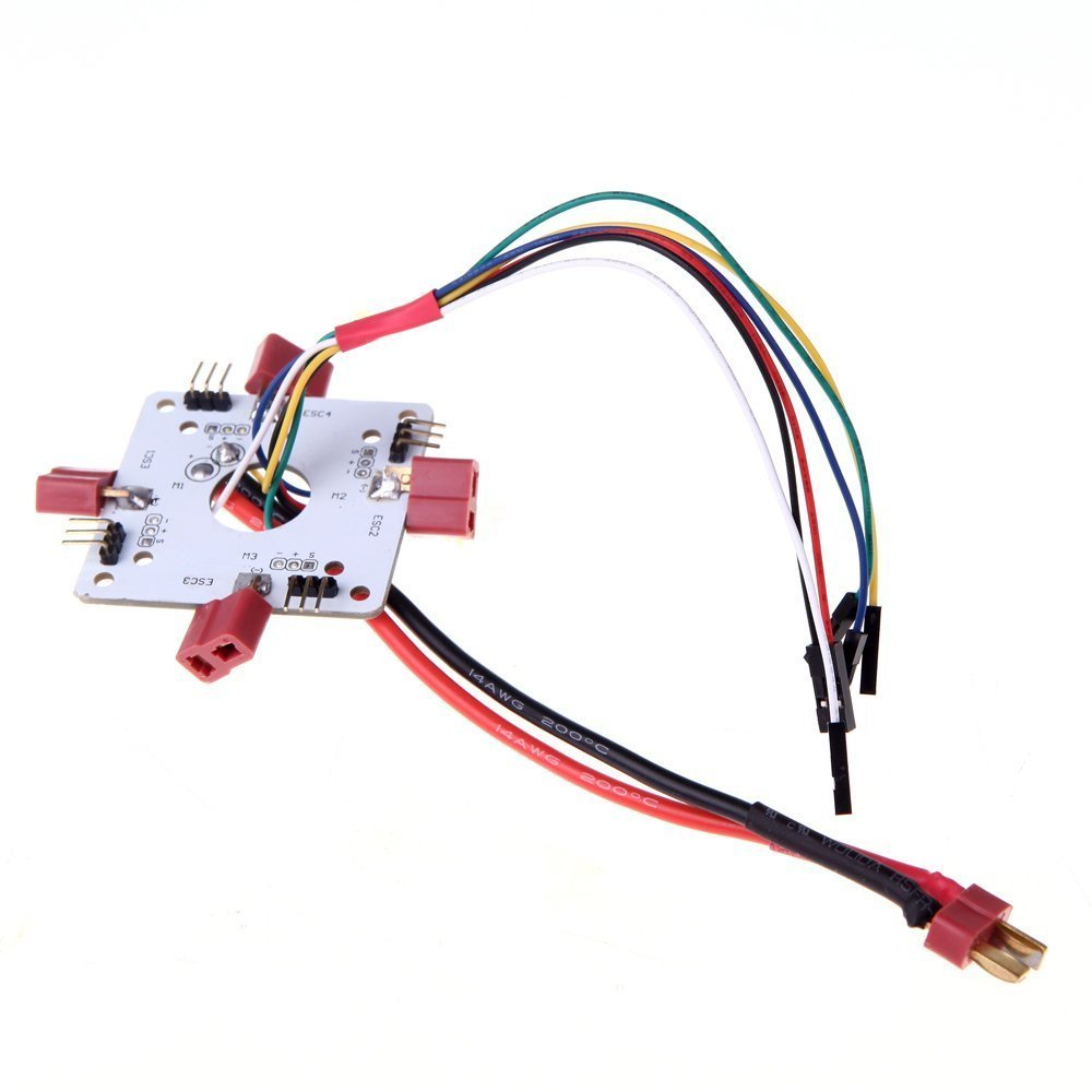 Power-Distribution-Board-for-APM-PX4-Paparazzi-flight-controller-board