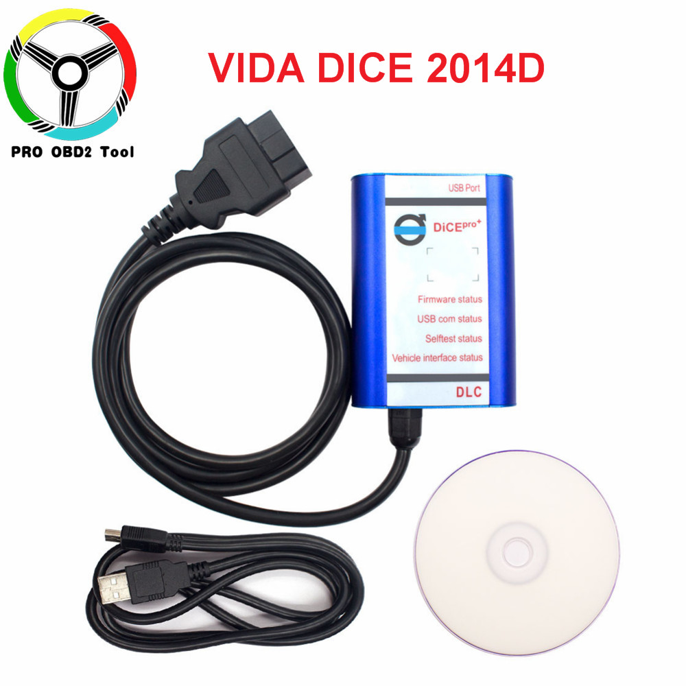 2018 Diagnostic scanner tool for Volvo Vida Dice Dice Pro for Volvo Vide Dice 2014D Diagnostic Tool with High Quality
