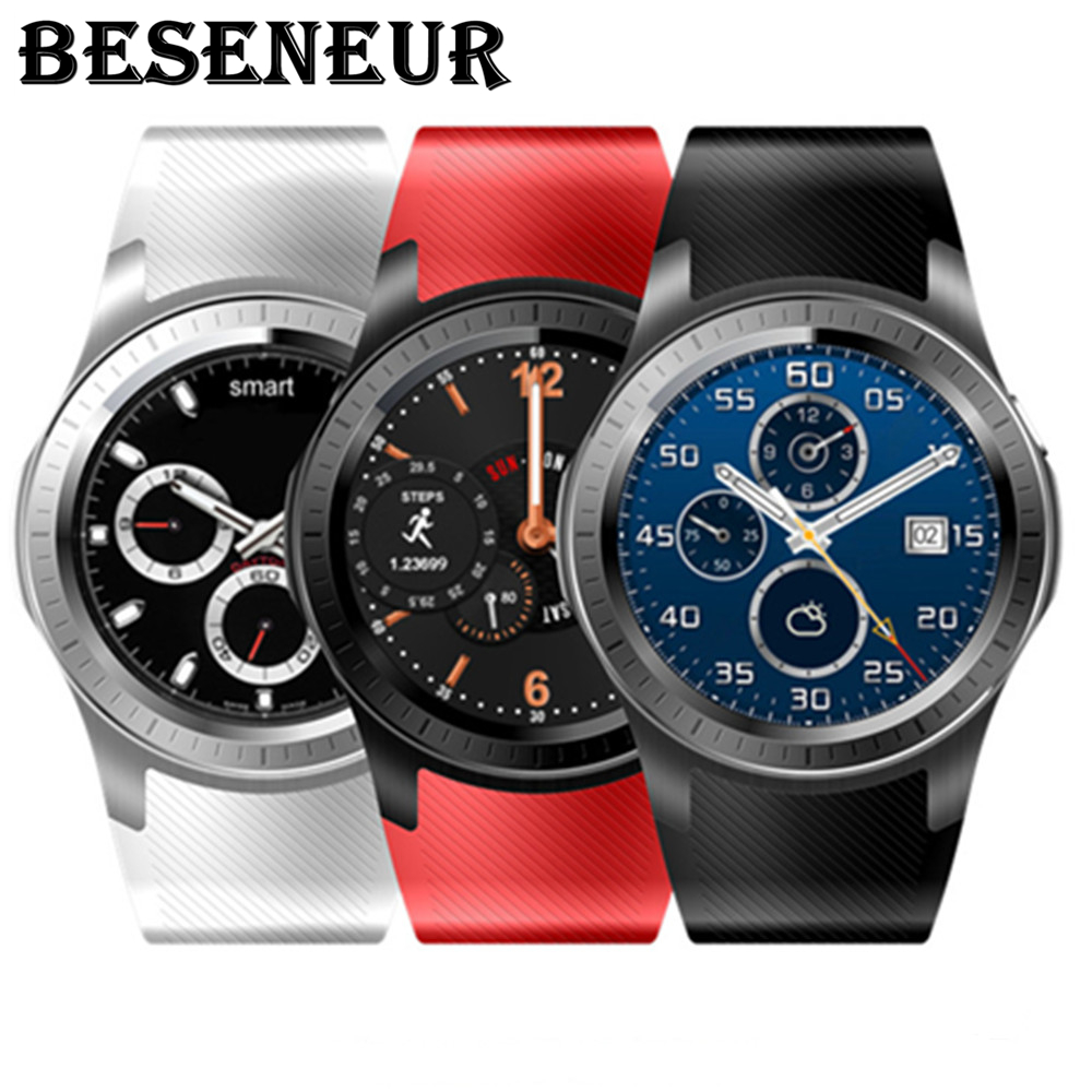 2018 New Smart Watch GW10 Android Smartwatch with Camera GPS Bluetooth WiFi Heart Rate Fitness Tracker Support 3G SIM Card Watch epic bluetooth wifi gps heart rate smart watch phone for android ios 2g 3g pedometer sleep tracker health smart watch dm368