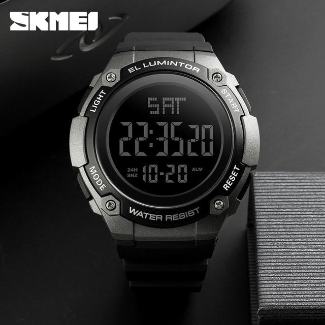Mens Watches SKMEI Brand Waterproof Outdoor Sport Watch Men Fashion Clock Male Casual Digital Men Wristwatches Relojes