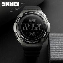 ساعات رجالي ماركة SKMEI ساعة رياضية خارجية مقاومة للماء ساعة عصرية للرجال ساعات يد رقمية غير رسمية للرجال