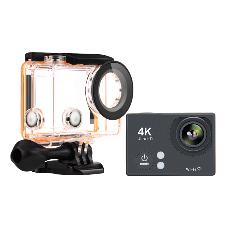 4 K Cámara de Acción H2se HD 1080 p Wifi 30 m Cámara Impermeable Ultra HD 2.0 LC