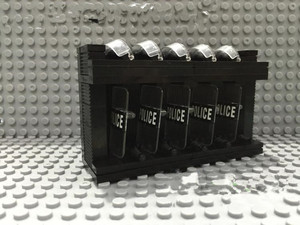 MOC Shield Riot Police Equipment Library Building Blocks Military Weapons City Accessories Compatible Original Toys For Children(China)