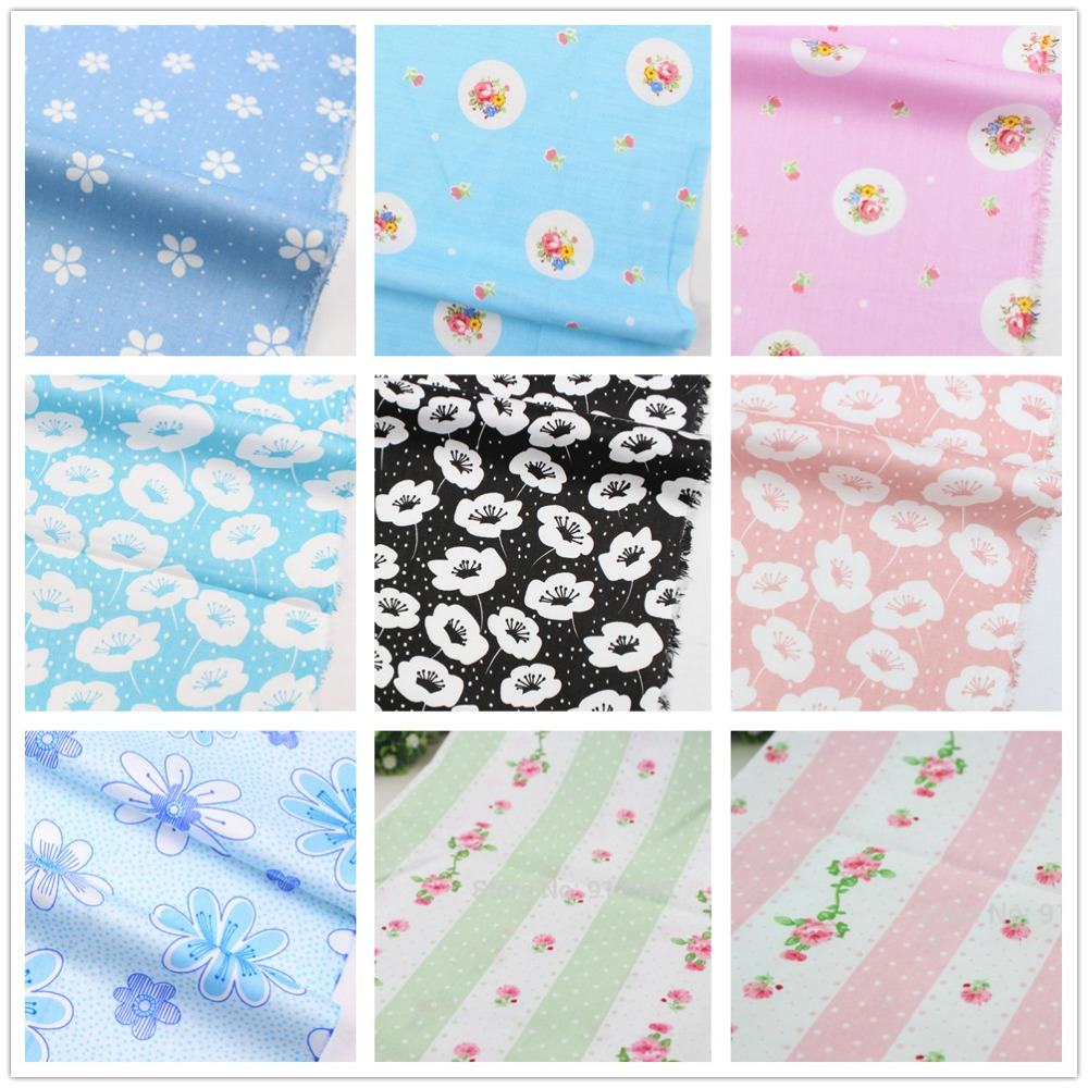 Accesorios de vestir de flores de tela de algodón Serie 15317262, 50 cm * 150 cm