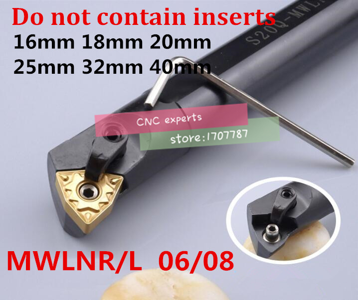 S16Q-MWLNR06 S20R-MWLNR06 S16Q-MWLNR08 S18Q-MWLNR08 S20R-MWLNR08 S25S-MWLNR08 S32T-MWLNR08 S40T-MWLNR08 MWLNL08 Turning Tools