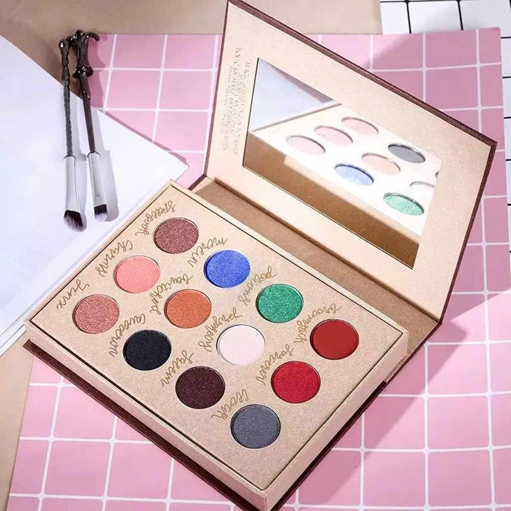 Daysee メイクアイシャドウアイシャドウ影パレットパレット化粧品セット影美容アイシャドウ 12 色 profissional # ZF8