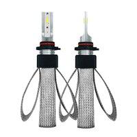 2Pcs H7 LED Car Headlight Bulb Kit 12V 9600LM H1 H4 H11 HB3 9005 HB4 9006