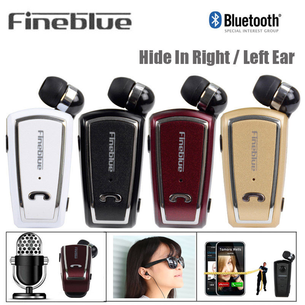 Fineblue F-V3 Business Wireless  Bluetooth 4.0 Built-in Microphone in-ear Earphone Waterproof  For all Bluetooth Enable Device