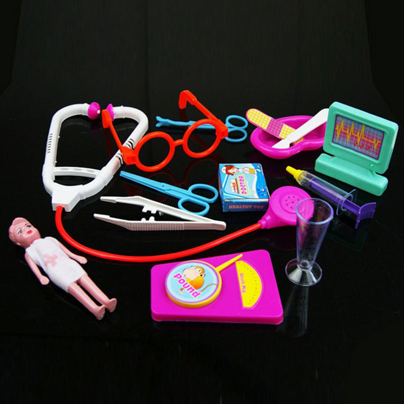 2016 New For girls Doctor Children Set Children play house Simulation DOCTOR childrens educational toys