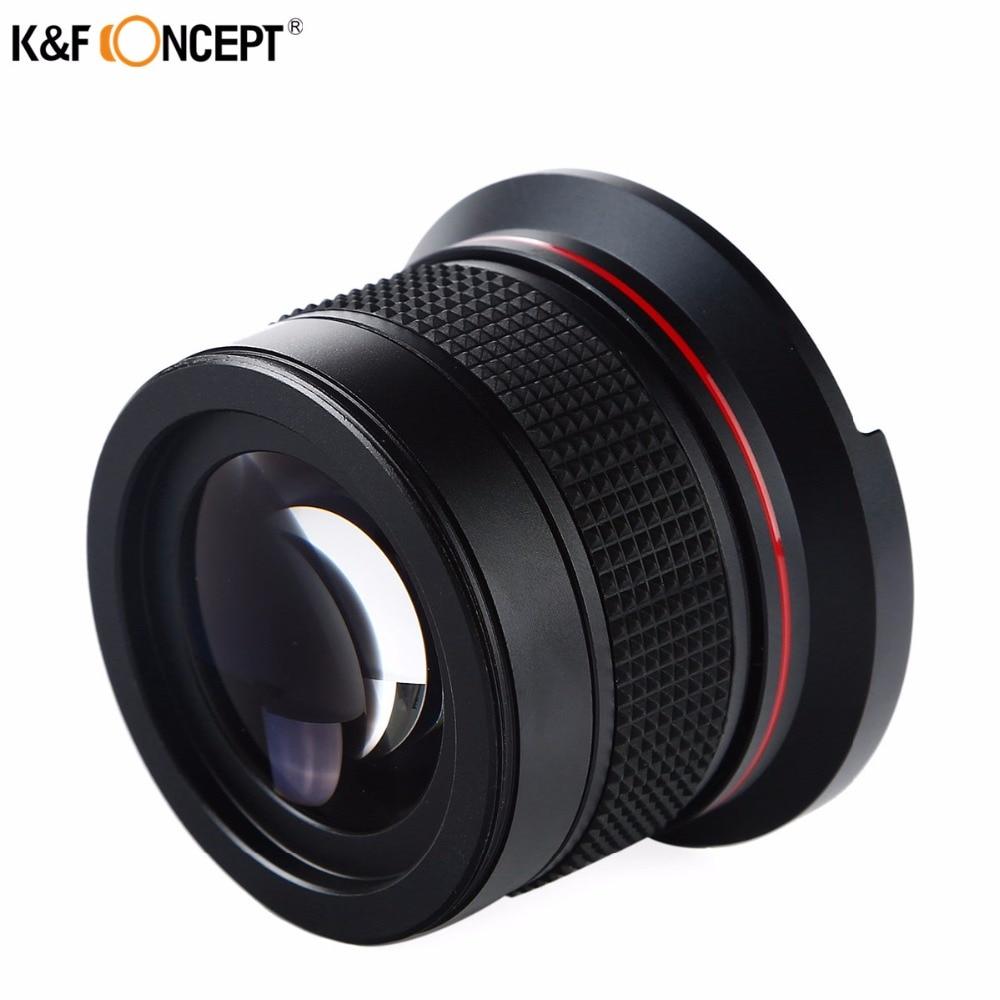 K&F CONCEPT 2in1 58mm 0.35x Fisheye լայն անկյուն - Տեսախցիկ և լուսանկար - Լուսանկար 4