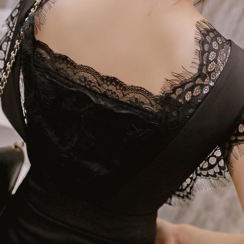 2019 Sexy Woman Jumpsuit Plus Size Sexy Lace Elegant Black Bodysuit Women Combinaison Femme Monos Largos Mujer Pantalon Largo