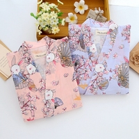 2017 Spring Fashion Women Kimono Cardigan Vintage Flower Printed Tassel Blouses Femininas Blusas Ladies Long Sleeve