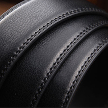 NEW Luxuries Designer Leather Men Belts PU Automatic Buckle Business Casual Brand Male Black accessories