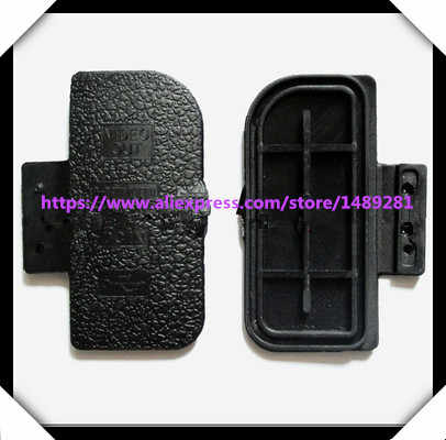2pcs NEW USB/HDMI DC IN/VIDEO OUT Rubber Door Bottom Cover For NIKON D300 Digital Camera Repair Part
