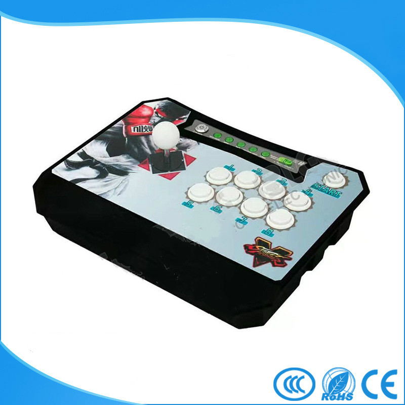Multifunction Wireless Arcade Joystick Plug and play Wireless Fighting Game Stick Game Controller