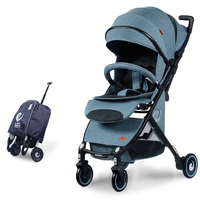 Bair Lightweight Baby Stroller High Position Pram Trolley