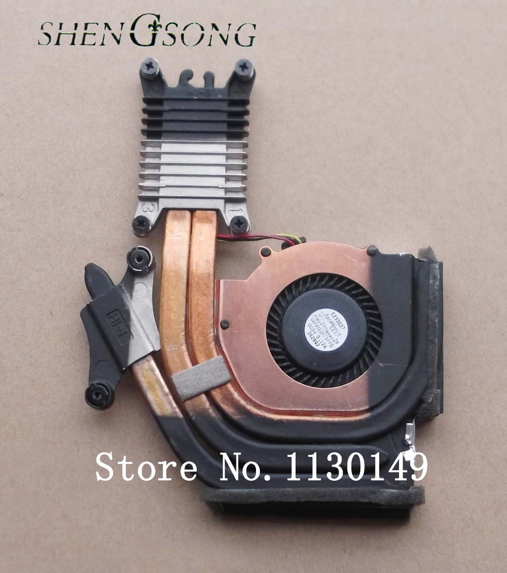 Free Shipping for ibm FOR LENOVO for THINKPAD T430s CPU Fan & Heatsink 04W3487 cooling fan brand new for sony vpc sa sd sr sb cpu fan with heatsink 300 0101 1831 free shipping