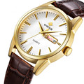 WWOOR Brand Men Watches military Vogue Leather Date Day Quartz Analog Clock Army Mens sports Watch Belt Buckle Relogio Masculino