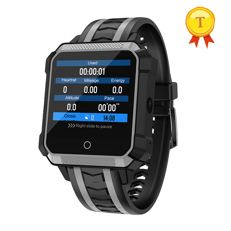real swimming 4G LTE GPS WiFi Android Alloy Smart Watch Sports Healthy Watch 5MP Camera Fitness