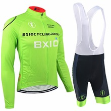 Bxio Long Sleeve Bicycle Sets Pro Cycling Jerseys Ropa Ciclismo Hombre Bike Clothes Verano Mountain Bike Kleding 011MIX