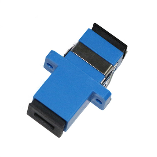 400 Pieces SC UPC Fiber Optical Adapter SM Single Mode Simplex One Piece Type for Fiber