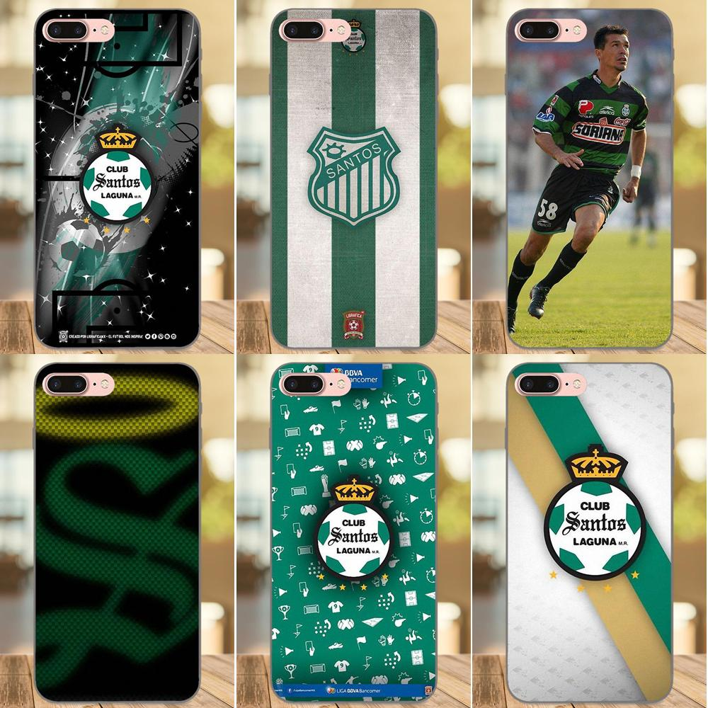 huge discount be08c 78ac5 US $0.99 |Santos Laguna Soft Pattern Phone For Samsung Galaxy Note 4 8 9  G313 S3 S4 S5 S6 S7 S8 S9 S10 Edge Plus Lite I9080-in Half-wrapped Cases  from ...