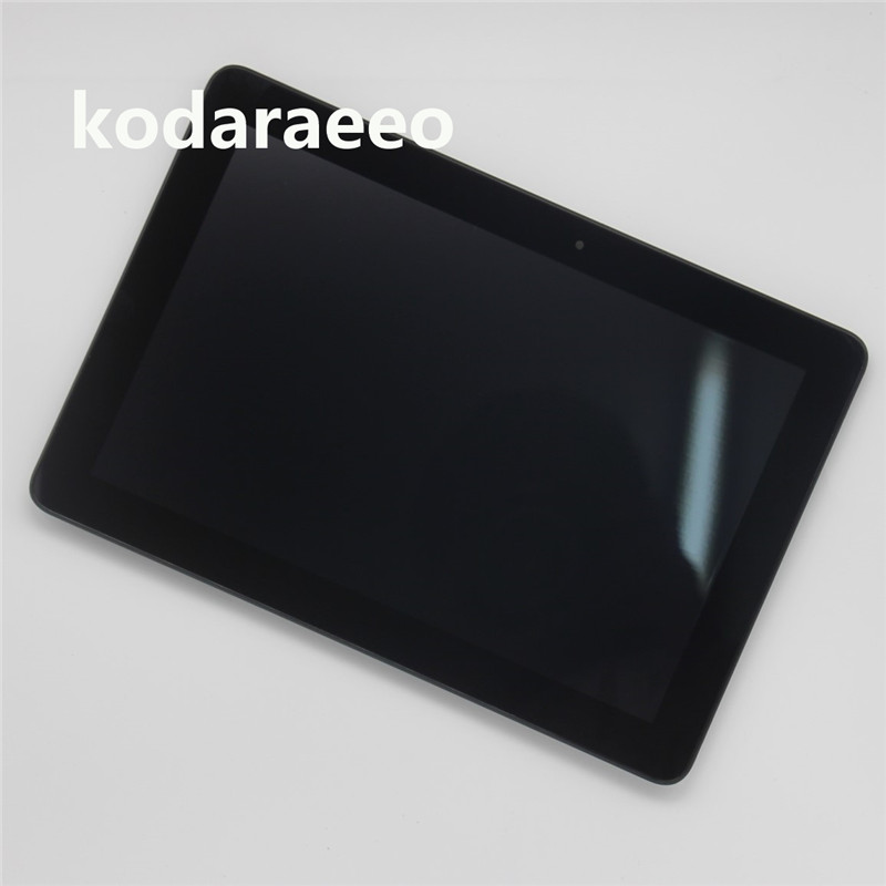Kodaraeeo Touch Screen Digitizer with LCD Display assembly Parts For Asus MeMO Pad 10 ME102 ME102A K00F FPC-V2.0 V3.0 4.0 1.0 new 8 inch for asus memo pad 8 me180 me180a digitizer touch screen with lcd display assembly frame