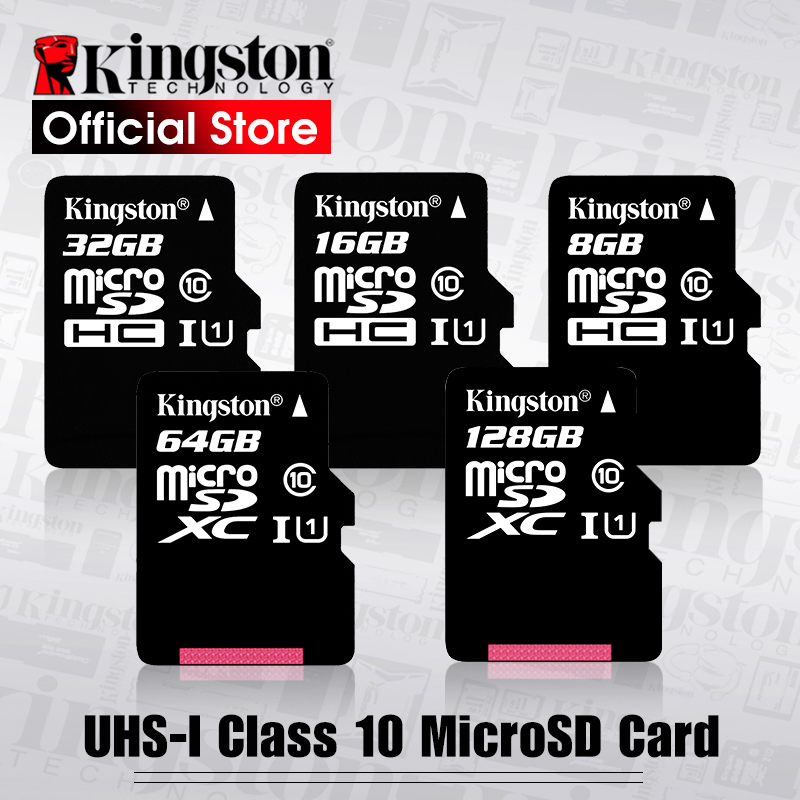 Kingston Micro-Sd-Card Carte Mobile-Phone Mini SDHC/SDXC Class10 C10 UHS-I