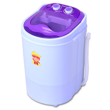 Freeshipping 220w Power Mini Washer Can Wash 4.0kg Clothes+ 2kg Dryer Single Tub Top Loading Wahser&dryer Semi Automatic