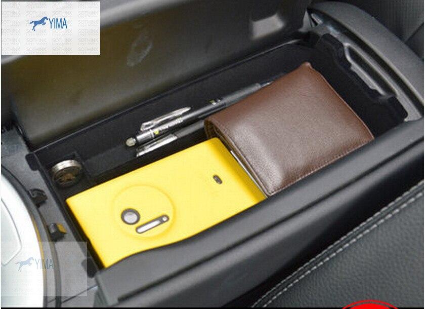 Accessoires pour Mercedes Benz GLC X253 2016 2017 2018 accoudoir rangement secondaire Console centrale boîtier coque de téléphone Kit supports